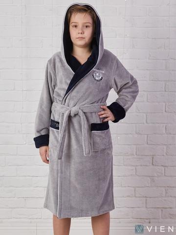 RONALDO (Silver) халат для мальчика  Five Wien (Турция)