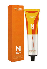 OLLIN N-JOY 5/30 – светлый шатен золотистый, перманентная крем-краска для волос 100мл
