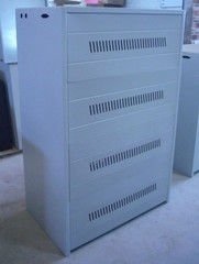 Железный шкаф для АКБ Gewald Electric C16-25 - фото 1