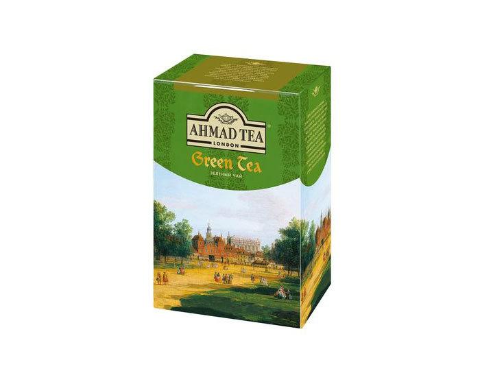 Чай зеленый листовой Ahmad Green Tea, 200 г (Ахмад)