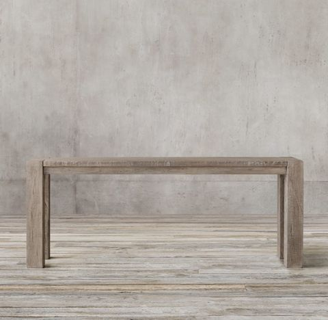Reclaimed Russian Oak Parsons Console Table