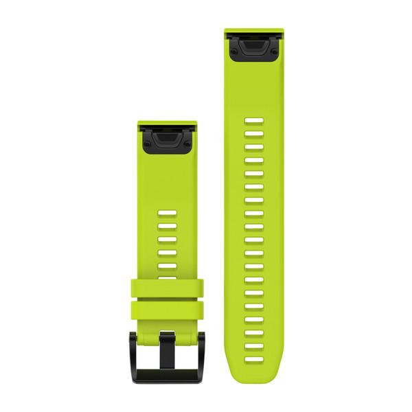 Силиконовый ремешок Garmin QuickFit 22 мм желтый