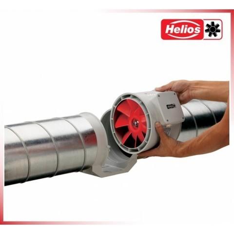 Канальный одноступенчатый вентилятор Helios MV 315