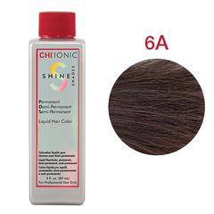 CHI Ionic Shine Shades Liquid Color 6A (Светло пепельно-коричневый) - Жидкая краска для волос