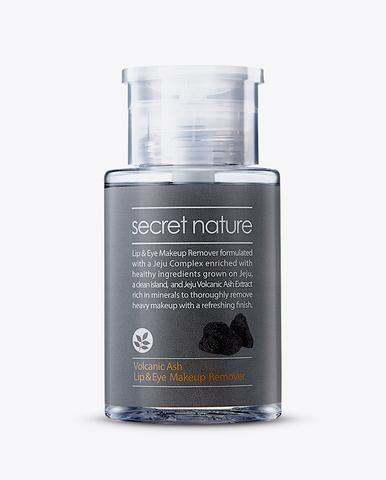Средство-жидкость для снятия макияжа глаз и губ - Secret Nature Volcanic Ash Lip&Eye Makeup Remover