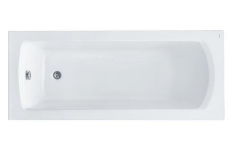 Монако XL 160х75 прямоугольная белая 1WH111978