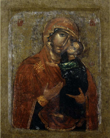Икона Божией Матери Толгская на дереве на левкасе мастерская Иконный Дом