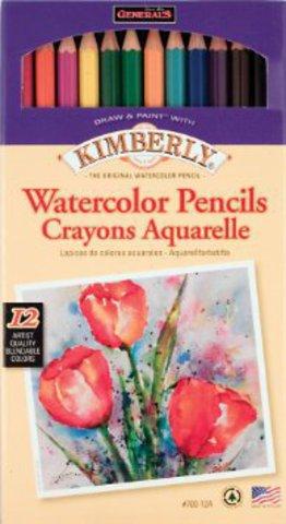 "Акварельные карандаши  12 цветов ""Kimberly"""