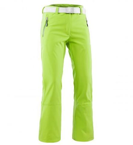 Брюки горнолыжные 8848 Altitude SPIN SOFTSHELL женские (lime)