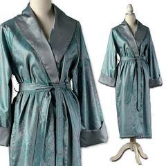 Элитный халат сатиновый Delhi petrol от Curt Bauer