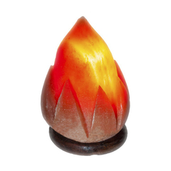 Солевая лампа Пламя