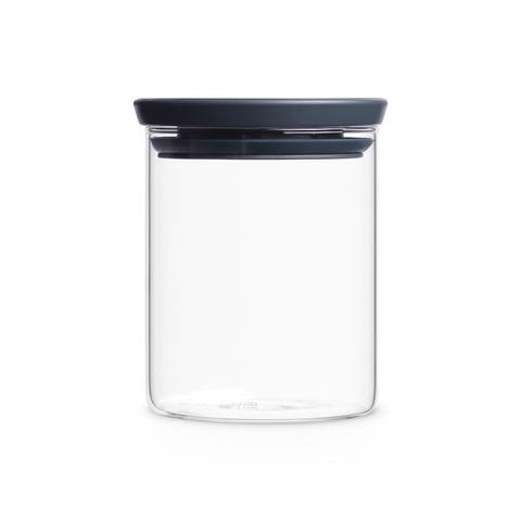 Модульная стеклянная банка (0,6  л), арт. 298288 - фото 1