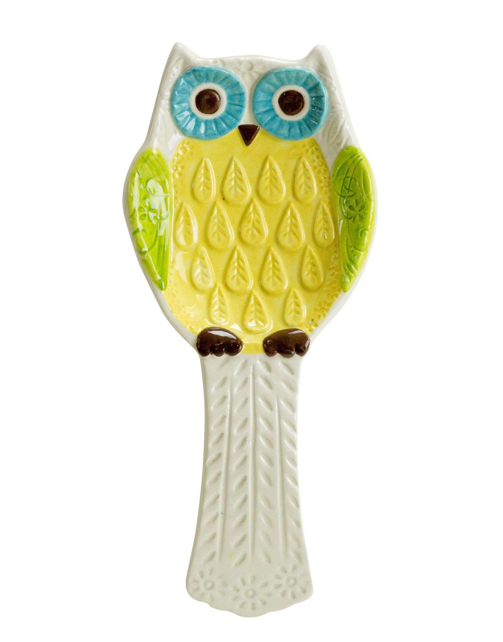 Кухня Подставка для ложки Boston Floral Owl podstavka-dlya-lozhki-boston-floral-owl-ssha.jpg