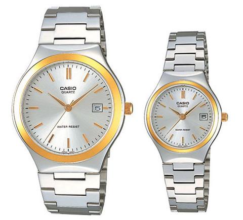 Купить Парные часы Casio Standard: MTP-1170G-7A и LTP-1170G-7A по доступной цене