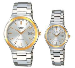 Парные часы Casio Standard: MTP-1170G-7A и LTP-1170G-7A