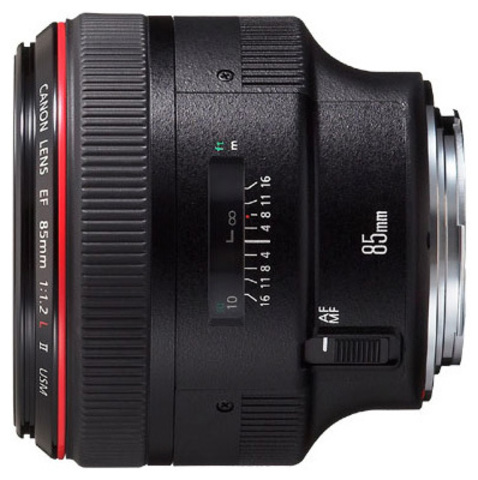 Canon EF 85mm f/1.2L II USM (JAPAN)