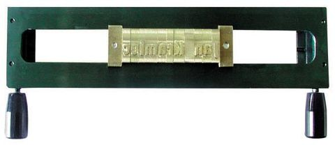 Рамка 1L9 однострочная рамка для составления текста из шрифта 9 мм