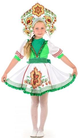 Русский народный костюм Журавушка девочка
