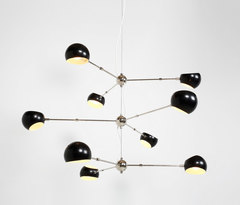 David Weeks Studio Tri Boi Chandelier No 418