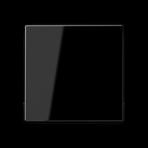 Выключатель одноклавишный перекрёстного типа. 10 A / 250 B ~. Цвет Чёрный. JUNG A. 507U+A590SW
