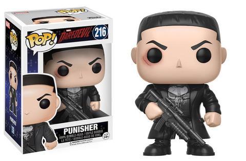 Фигурка Funko POP! Vinyl: Marvel: Daredevil TV: Punisher w/ Chase
