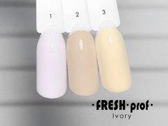 Гель лак Fresh prof IVORY 10мл №02