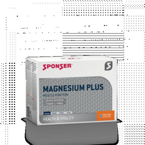 NEW! Sponser Magnesium plus Магнезия плюс Фруктовая Смесь, 20*6,5 гр