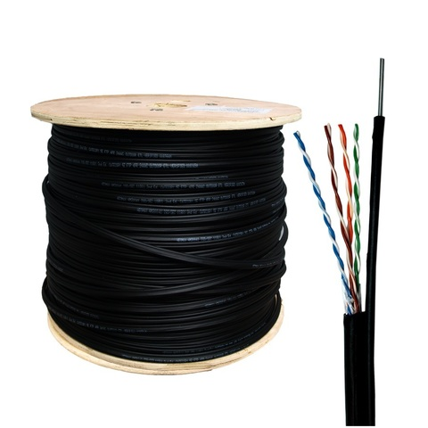 Витая пара FTP cat.5e 4pair 4*2*0.50 (24AWG (внешний с тросом)