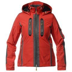 Женская горнолыжная куртка Almrausch Manning 320212-2605 красная фото