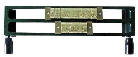 Рамка 2L6 2-х строчная рамка для составления текста из шрифтов 6 мм и 5 мм