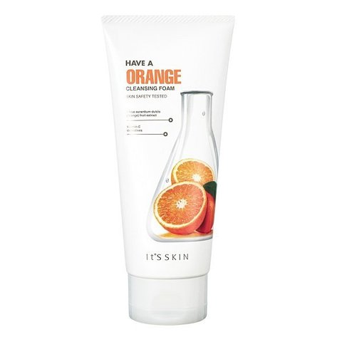 Смягчающая пенка Have a Orange Cleansing Foam от It's Skin