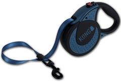 Поводок-рулетка Kong Ultimate XL (до 70 кг) лента 5 метров, синяя