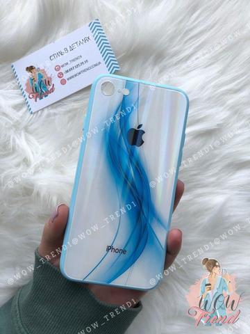 Чехол iPhone 7/8 Polaris smoke Case Logo /blue/