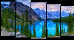 """Модульная картина """"Горы Канады"""""""