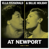 Ella Fitzgerald & Billie Holiday / At Newport (LP)