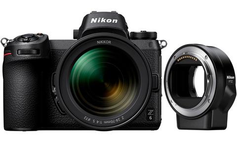 Фотоаппарат Nikon Z6 Kit 24-70/4 S + переходник FTZ + XQD64Gb