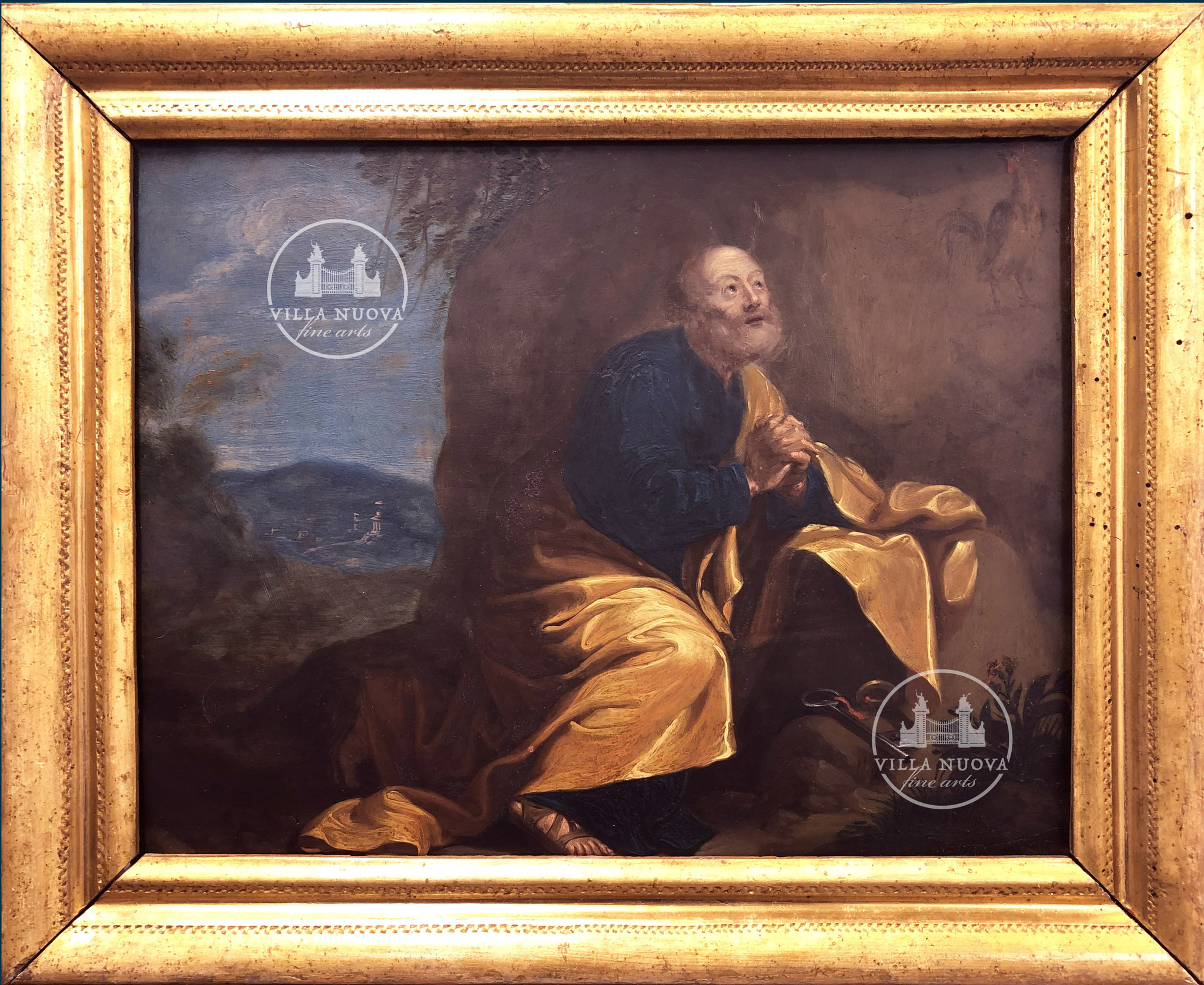 Simon DE VOS (Attrib.) (1603-1676) Saint Peter