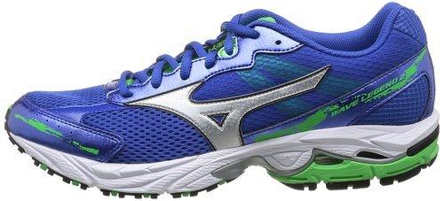 Мужские беговые кроссвки Mizuno Legend 2 (J1GC1410 03) синие фото