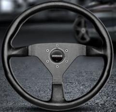 Руль momo Montecarlo-black 32 (диаметр 320 мм.)