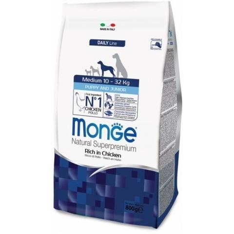 Monge Medium Puppy & Junior 15 кг