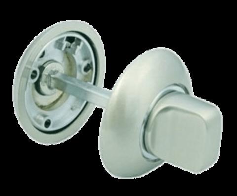 Фурнитура - Завёртка  Morelli MH-WC SC/CP, цвет матовый хром/полированный хром ЦАМ - (сплав, содержащий цинк, алюминий и медь) + многослойное гальваническое покрытие