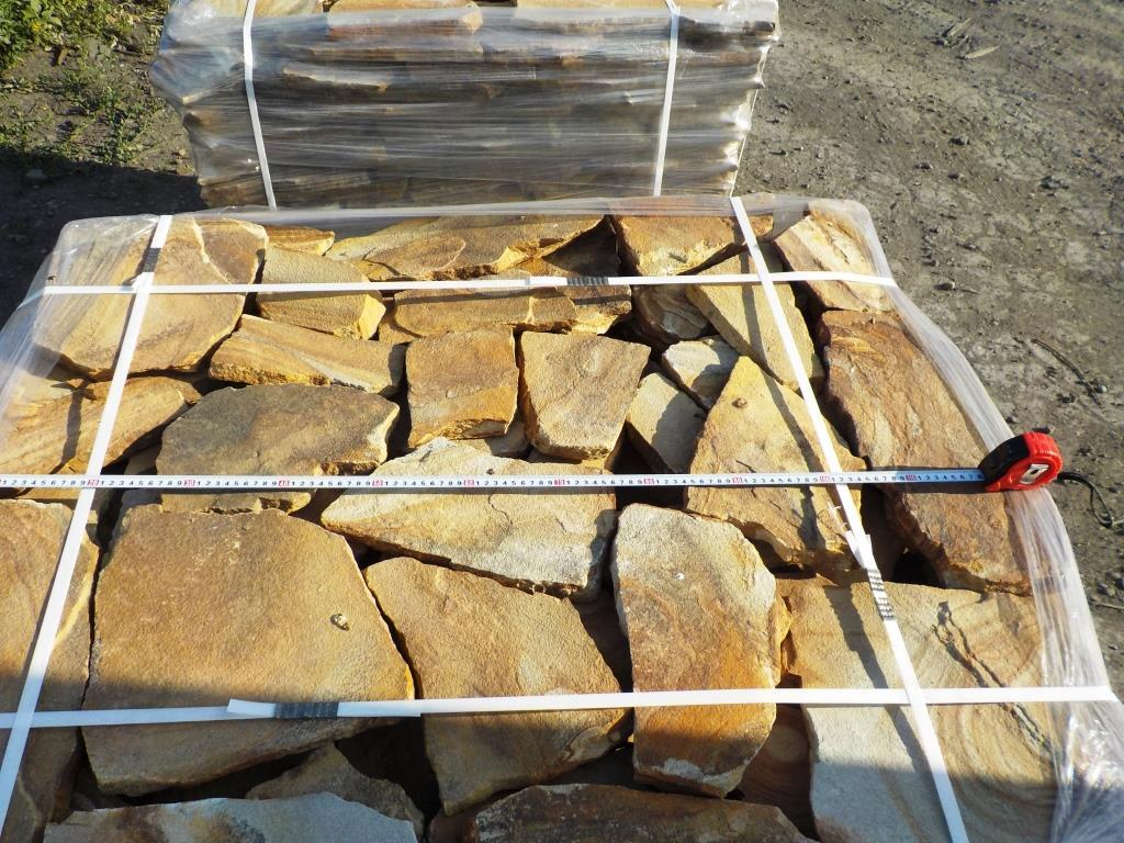 Песчаник плитняк Радужный