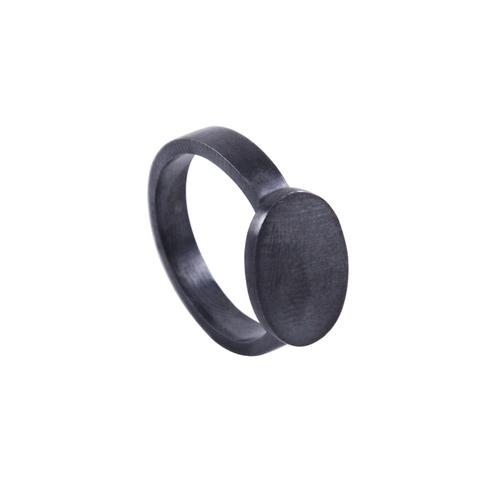 SIGNET RING I - BLACK