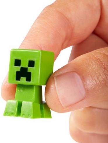 Мини-фигурки Майнкрафт (Minecraft) Крипер, Свинья и Скелетон