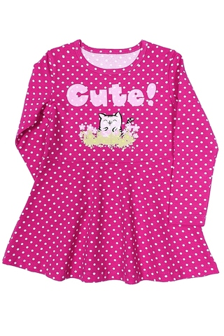 Basia Л1232-4170 Платье для девочки фуксия
