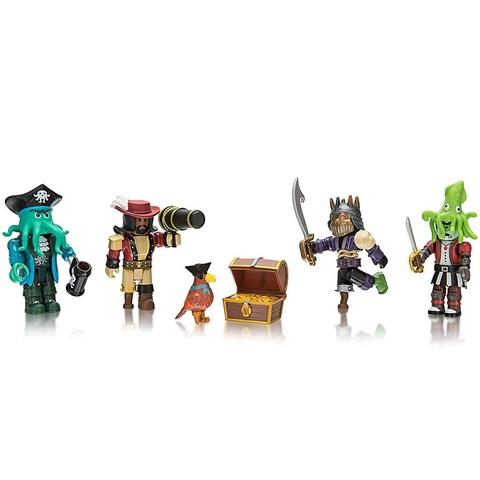 Роблокс Пираты-Капитаны набор из 4 фигурок