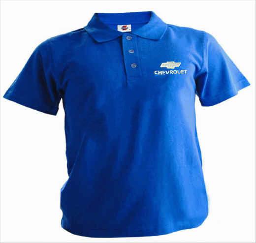 Рубашка поло с логотипом CHEVROLET