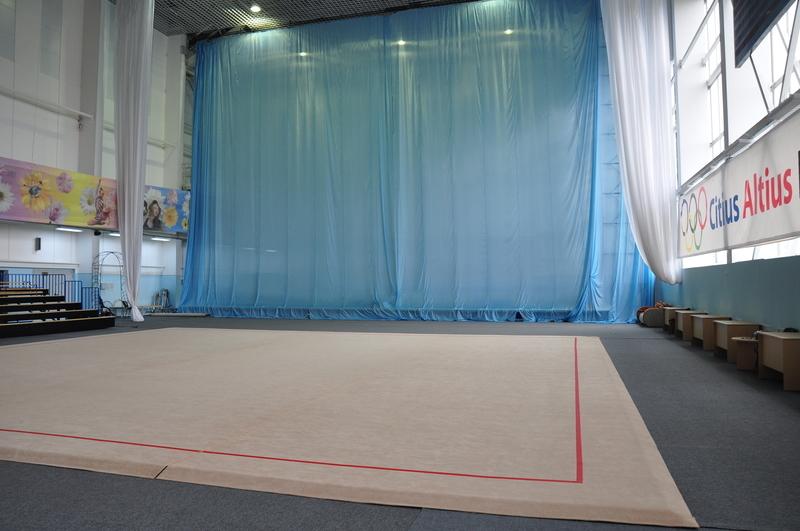 Ковер для художественной гимнастики (тренировочный) 14х14х0,015м.