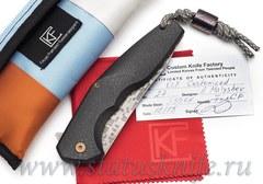 Нож CKF CUSTOM ELF (S35VN, титан-карбон, подшипники)