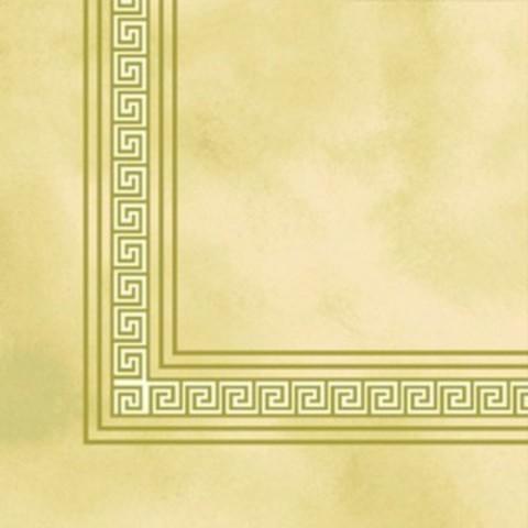 Салфетки бумажные Классика 33x33 3сл. Греческие мотивы, бежевый фон